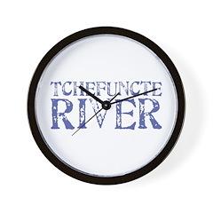 Tchefuntcte River Wall Clock