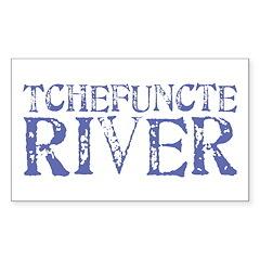Tchefuntcte River Rectangle Sticker 10 pk)