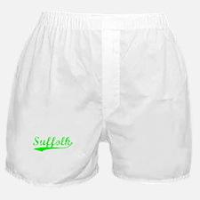 Vintage Suffolk (Green) Boxer Shorts