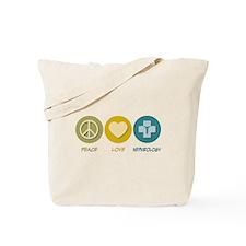 Peace Love Nephrology Tote Bag