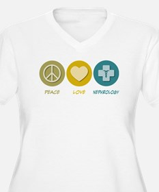 Peace Love Nephrology T-Shirt
