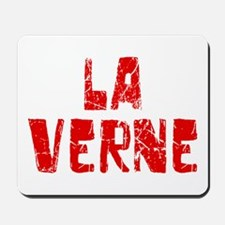 La Verne Faded (Red) Mousepad
