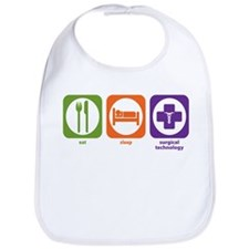 Eat Sleep Surgical Technology Bib