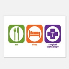 Eat Sleep Surgical Technology Postcards (Package o