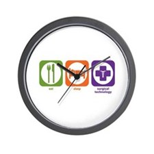 Eat Sleep Surgical Technology Wall Clock