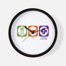 Eat Sleep Surgical Technology Wall Clock
