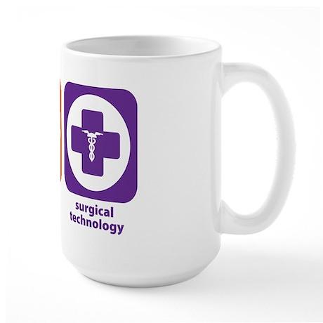 Eat Sleep Surgical Technology Large Mug