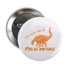 "Orange Polacanthus 2.25"" Button (100 pack)"