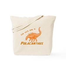 Orange Polacanthus Tote Bag