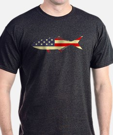 """Patriotic Bluefish"" T-Shirt"