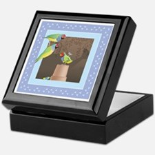 Lady Gouldian Finch Keepsake Box