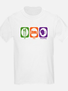 Eat Sleep Storytelling T-Shirt