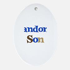 Landon's Son Oval Ornament