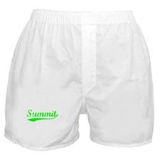 Vintage Summit (Green) Boxer Shorts