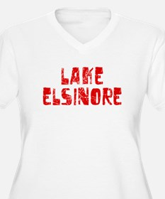Lake Elsinore Faded (Red) T-Shirt