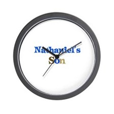 Nathaniel's Son Wall Clock