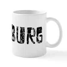 Pittsburg Faded (Black) Mug