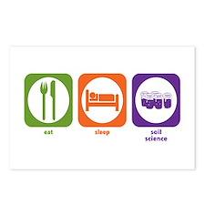 Eat Sleep Soil Science Postcards (Package of 8)