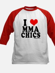 I LOVE MMA CHICS Tee