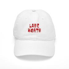 Lake Worth Faded (Red) Baseball Cap