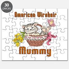 American Shorthair Cat Designs Puzzle