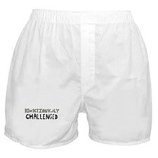 Directionally Challenged Boxer Shorts