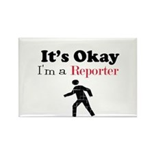 Reporter Rectangle Magnet (10 pack)