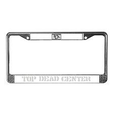 TDC License Plate Frame