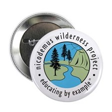 """Nicodemus Wilderness Project 2.25"""" Button"""