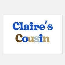 Claire's Cousin Postcards (Package of 8)