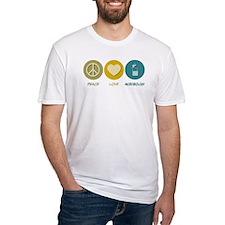 Peace Love Microbiology Shirt