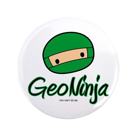 "GeoNinja 3.5"" Button (100 pack)"