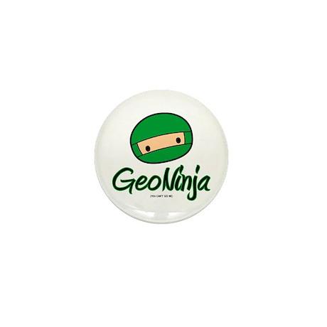 GeoNinja Mini Button (10 pack)