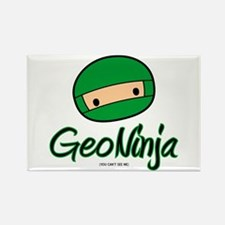 GeoNinja Rectangle Magnet (10 pack)