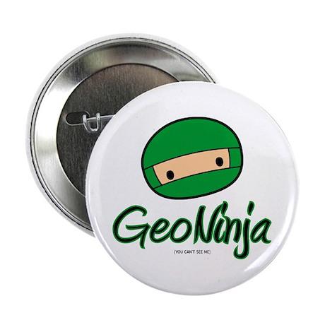 """GeoNinja 2.25"""" Button"""