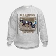 Brown Harness Racing Sweatshirt