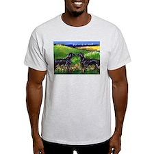 FLATTIE greets Flattie Ash Grey T-Shirt