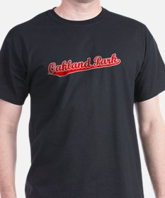 Retro Oakland Park (Red) T-Shirt