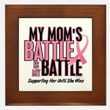 My Battle 1 (Mom BC) Framed Tile