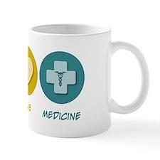 Peace Love Medicine Mug