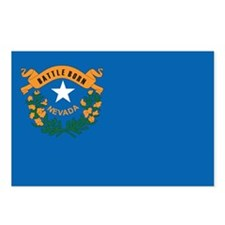 NEVADA-FLAG Postcards (Package of 8)