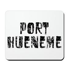 Port Hueneme Faded (Black) Mousepad