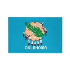 OKLAHOMA-FLAG Rectangle Magnet