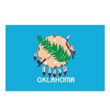 OKLAHOMA-FLAG Postcards (Package of 8)