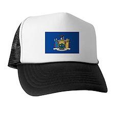 NEWYORK-STATE-FLAG Trucker Hat