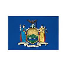 NEWYORK-STATE-FLAG Rectangle Magnet