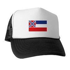 MISSISSIPPI-FLAG Trucker Hat
