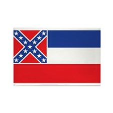 MISSISSIPPI-FLAG Rectangle Magnet