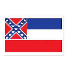 MISSISSIPPI-FLAG Postcards (Package of 8)