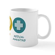 Peace Love Medical Assisting Mug